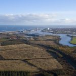 Port of Blyth - aerial shot
